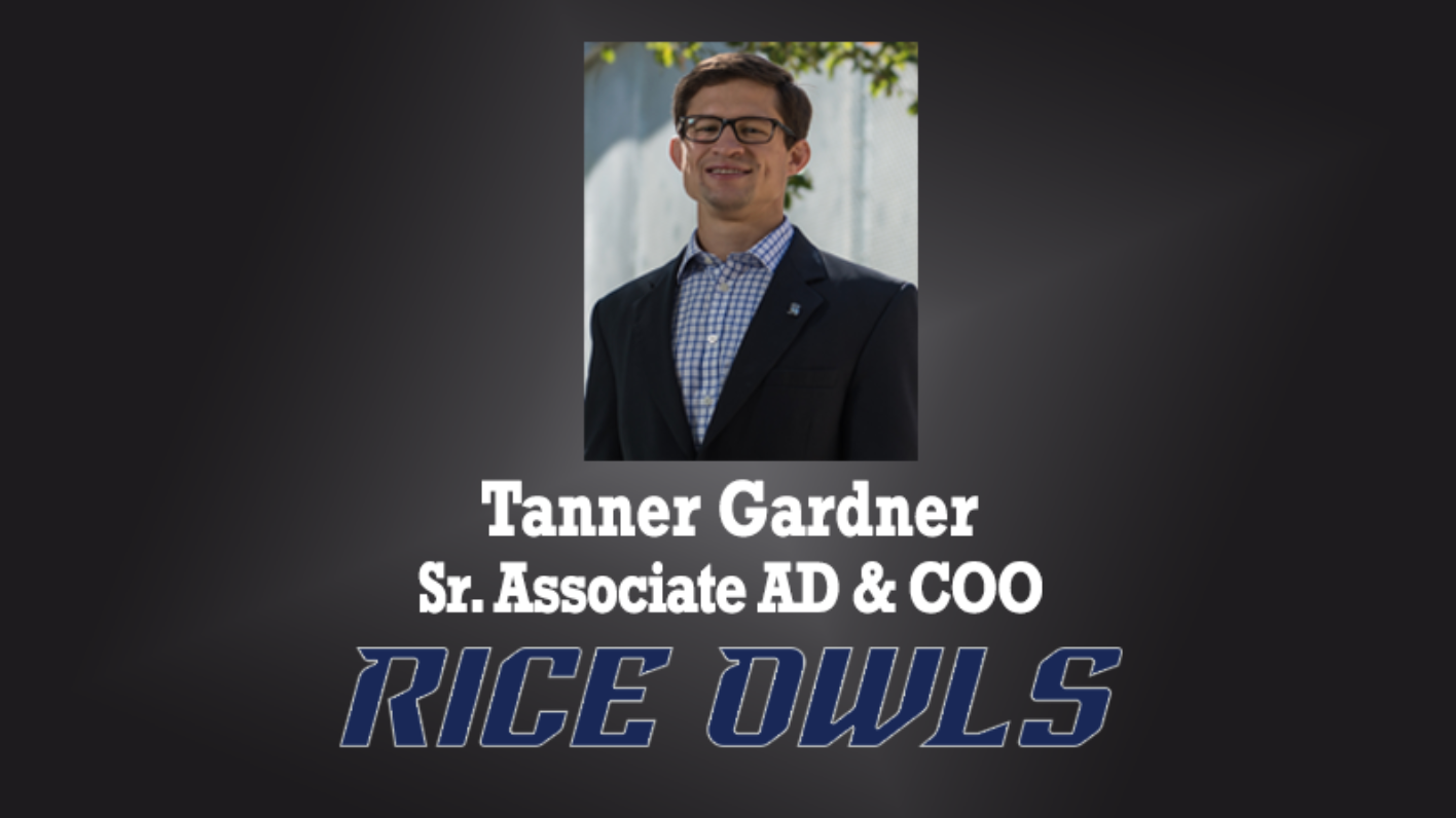 Dissinger Reed partner Tanner Gardner of Rice University featured on Athletic Director U!